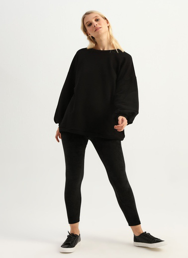 Quzu Sweatshirt Siyah